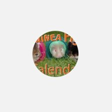 Guinea Pigs #2 Wall Calendar Mini Button