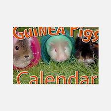 Guinea Pigs #2 Wall Calendar Rectangle Magnet