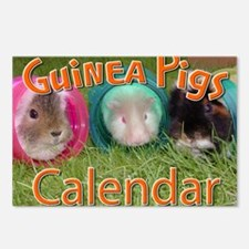 Guinea Pigs #2 Wall Calen Postcards (Package of 8)