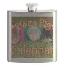 Guinea Pigs #2 Wall Calendar Flask