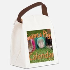 Guinea Pigs #2 Wall Calendar Canvas Lunch Bag