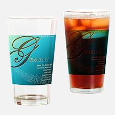 Gemini Astrographix Drinking Glass
