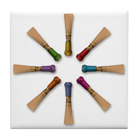 Bassoon Reed Tile Coaster
