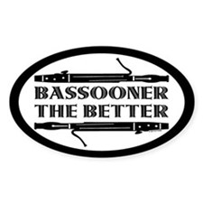 Bassooner the Better (h) Decal