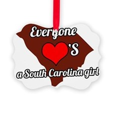 Everyone loves a South Carolina g Ornament