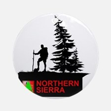 SOTA Northern Sierra Round Ornament