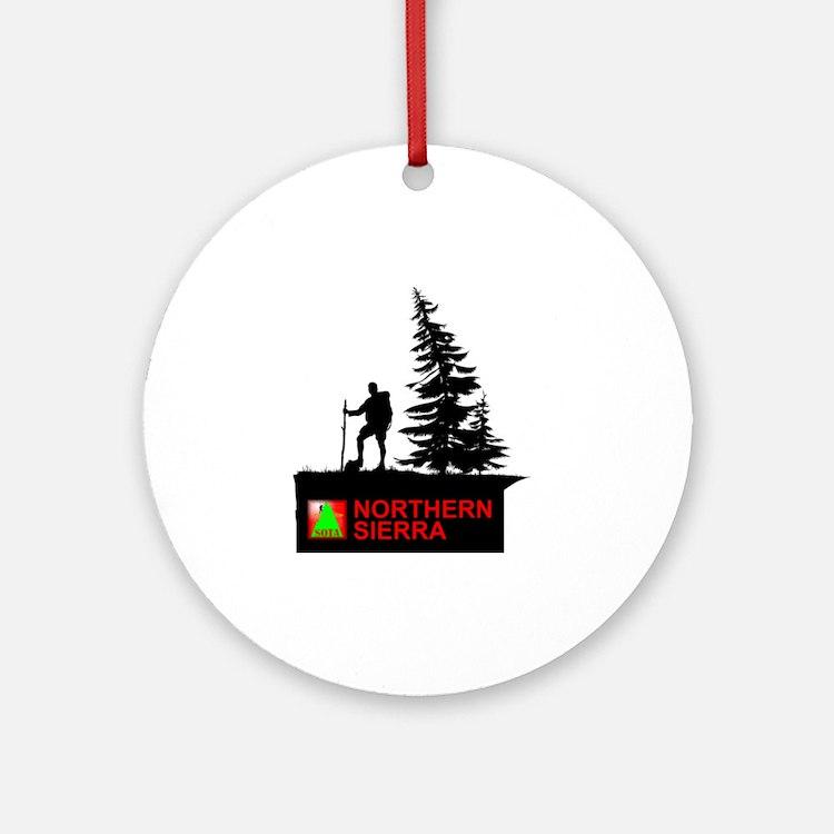 SOTA Northern Sierra Round Ornament