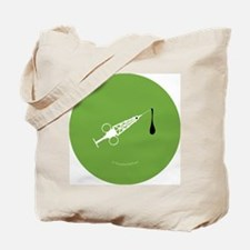Hypo-Derrick (Green/White) Tote Bag