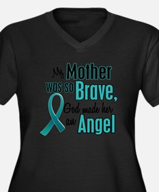 Angel 1 TEAL (Mother) Plus Size T-Shirt