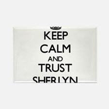 Keep Calm and trust Sherlyn Magnets