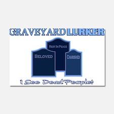Graveyard Lurker Car Magnet 20 x 12