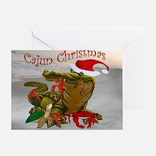 Cajun Christmas Greeting Card
