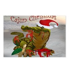 Cajun Christmas Postcards (Package of 8)