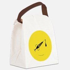 Hypo-Derrick (Black/Yellow)) Canvas Lunch Bag