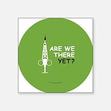 """Hypo-Derrick - Are We There Square Sticker 3"""" x 3"""""""