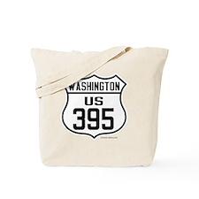 US Route 395 - Washington Tote Bag