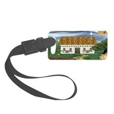 Storm Cottage Luggage Tag