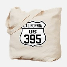 US Route 395 - California Tote Bag