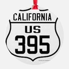US Route 395 - California Ornament