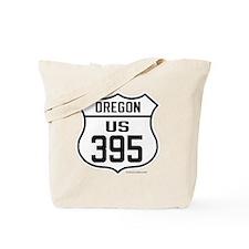 US Route 395 - Oregon Tote Bag