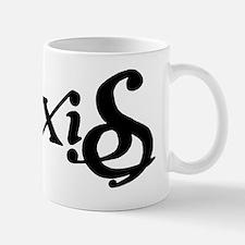 Pixies Ambigram (Black) Mug