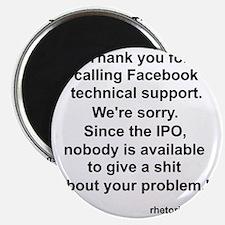 Facebook Support Magnet