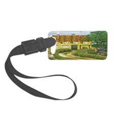 The Library Luggage Tag