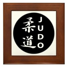 Cute Martial arts Framed Tile