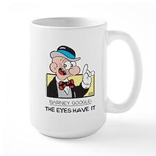 The Eyes Have It Large Mug