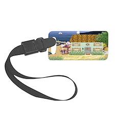 Lakeside Cottage Luggage Tag