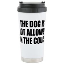 Dog Rules Travel Coffee Mug