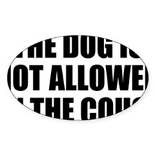 Dog Rules Decal