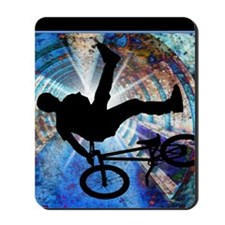 BMX in a Grunge Tunnel Mousepad