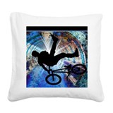 Bmx Square Canvas Pillows
