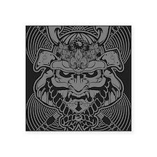 "Samurai Rising Square Sticker 3"" x 3"""