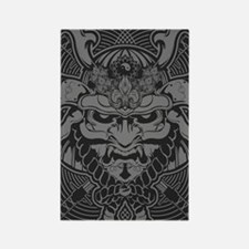 Samurai Rising Rectangle Magnet