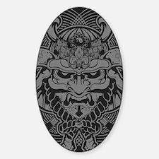 Samurai Rising Sticker (Oval)
