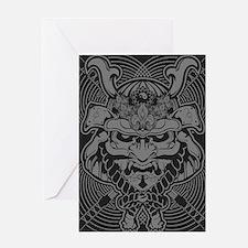 Samurai Rising Greeting Card