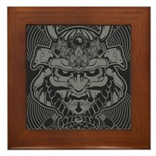 Samurai Rising Framed Tile