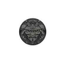Samurai Rising Mini Button