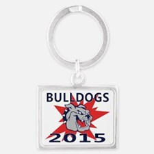 2015 Bulldogs Landscape Keychain