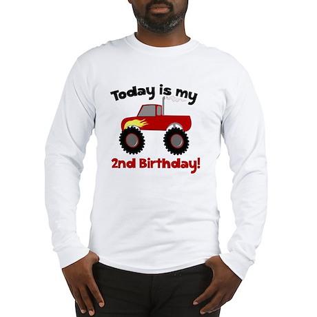 Monster Truck 2nd Birthday Long Sleeve T-Shirt