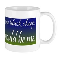 Black Sheep Small Mug