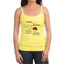 Coffee Lovers  Jr.Spaghetti Strap