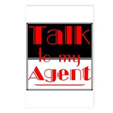 my agent Postcards (Package of 8)