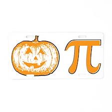 Pumpkin pie Aluminum License Plate