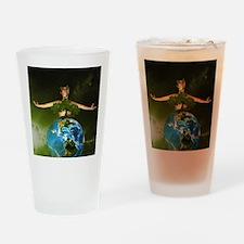 tgoon_shower_curtain Drinking Glass