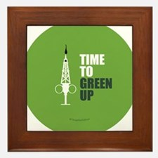 Hypo-Derrick - Time to Green Up Framed Tile