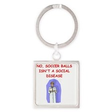med school Square Keychain
