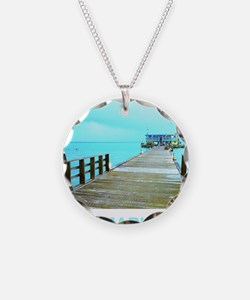 Cool Rod & Reel Pier Necklace